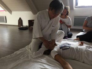 En cours avec Maitre Wataru Ohashi