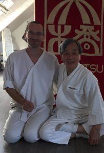 Patrice Girard et Maitre Wataru Ohashi